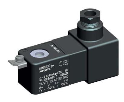 30mm Magnetspule ATEX Ex dm 24V AC