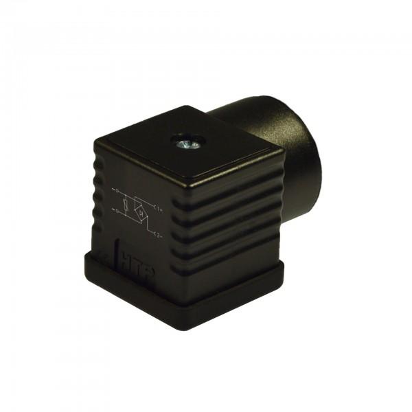 Steckverbinder 18 mm – DIN/A, 2Pole + Erde, 115V AC