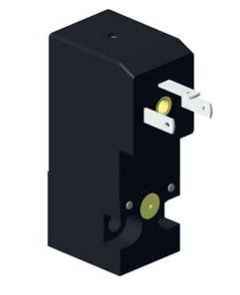15 mm Pneumatisches Steuerventil – DIN C 8mm, 12V DC 0,7W 3/2 NC