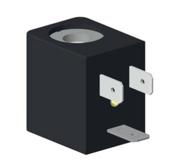 22mm Magnetspule EVI 7/9 – AMP 6.3x0.8 mm, AC, 110V, 8.5VA